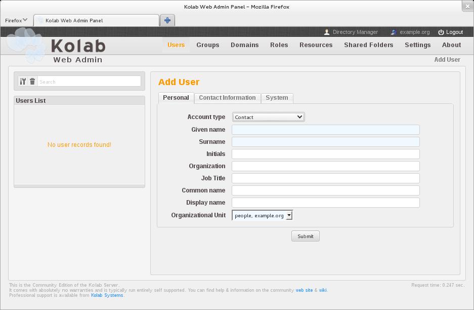 _images Kolab Webadmin Create User  Png